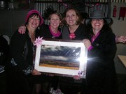 Sally McKenzie, Sharee Schmaal, Wendy Johnston (winner of the major raffle prize) and Marianne Braunack.JPG